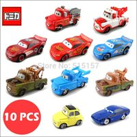 diecast - pieces tomy tomica toy cars pixar diecast metal Special Mater King Rod Luigi