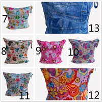 Wholesale Diaper Bag Cloth Diapers Handbags Diapers Nappies Baby Nappy Changing Diaper Bag Waterproof Baby Bags Girls Boys Cartoon Fashion Zipper Bags