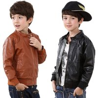 Cheap Kids Leather Jackets Boys Coats | Free Shipping Kids Leather ...