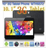 Bon Marché Android tablet with sim card slot-10x moins cher 10 pouces MTK6572 Dual Core 1.2Ghz Android 4.2 WCDMA 3G Phone Call tablet pc bluetooth GPS Wifi double caméra avec 2 Emplacement pour carte SIM