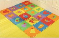 Wholesale New Arrival Hot Children s Game Blanket Baby Crawling Mat EVA Game Pad Puzzles Baby Waterproof Random Color cm