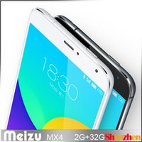 Wholesale Meizu MX4 Octa Core MediaTek A17 inches mobile phone G GB dual channel LPDDR3 memory MHz