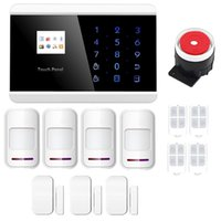 app voice - New IOS android APP Controller Wireless Touch Panel GSM SMS Home Secure Shock Door Alarma System DIY Burglar Voice Alarme