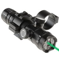 Wholesale New Tactical Green Dot Laser Sight Rifle Scope Switch Picatinny Rail Mounts Set VEB20 W0 SYSR