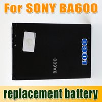 Wholesale Replacement Battery BA600 Replacement Battery For Sony Ericsson Xperia U ST25i ST25 Bateria Battery Epacket Free to USA Churchill
