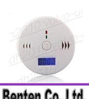 Wholesale CO Carbon Monoxide Detector Smoke Home Alarm Safety Gas Fire Poisoning Warning Alarm Sensor Battery Operated Alert LED Display LLFA2110F