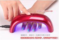 Wholesale 3LEDs LED Nail Dryer W Rainbow LED Light Therapy Machine Lamp UV Nail Lamps Mini LED UV Lamp Seconds Fast Drying Mini LED Nail Lamp