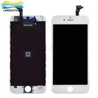 Wholesale Original LCD Display Touch Digitizer Complete Screen with Frame Full Assembly Replacement For iPhone inch DHL