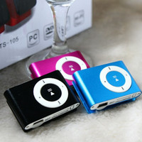 No building products - 2015 hot sell Fashion High Quality Mini Clip Mp3 Player With TF Card Slot Electronic Products sports Metal mini MP3 only a Mp3