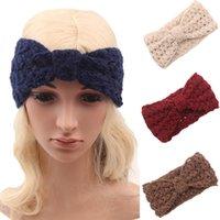 Wholesale New Fashion Girls Headwrap Ear Warmer Crochet Women Headband Knit Hairband