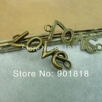Wholesale 10pcs bag Fashion jewelry sideway love charm mm F412
