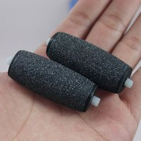 Wholesale Replacement Roller Heads Foot Care Replacement Rollers Heads For Electric Pedicure Velvet Smooth Express Pedi Skin Foot File Callous Remover