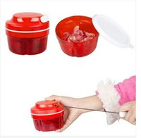 Wholesale New Arrival Essential Chopper multifunctional hand Speedy Chopper vegetable fruits chopped shredder EMS