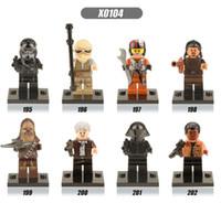 Wholesale 480pcs star Wars Minifigures brick The Force Awakens Building Block Set Models Figure Toy x0104