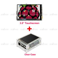 Wholesale New Original quot LCD TFT Touch Screen Display with Stylus for Raspberry Pi Model B Board Acrylic Case