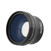 Wholesale 0 x MM Wide Angle Lens for Canon Nikon Sony Olympus DSLR XF W