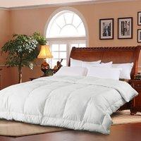 Wholesale CHUANGYU Duck Down Breathable Luxury Bedding Set Duvet Comforter Quilt Cover Bed Home Textile Color DHL