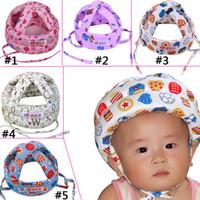 baby no bumps - Cute Baby Toddler Safety Helmet Headguard Hats Cap No Bumps Adjustable