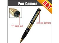Wholesale Freeshipping camera pen digital pen camera video and voice record take photo