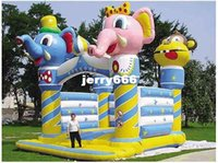 Wholesale castle bouncy baby bouncer chair