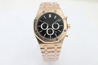 watch faces - black face good man sell well Back glass Rose Gold case brand men watch stainless steel automatic lMechanics uxury wristwatch men s Watches