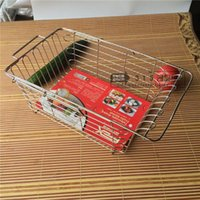 Wholesale Stainless steel kitchen sink drain basket vegetables scalable multi sieve basket bowl kitchen vegetables basin with pure steel