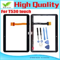 Wholesale 1pcs High Quality Touch Screen Digitizer For Samsung Galaxy Tab T530 T531 T535 Touch Screen Black color