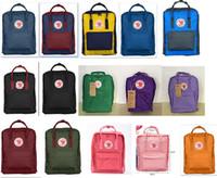 Wholesale Kanken Classic Backpack casual school bags waterproof travel bag