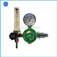 Wholesale CO2 Argon regulator CO2 Argon pressure regulator Argon Regulator AR Reducer Pressure Gas Flowmeter for Tig Welding Machines