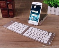 computer keyboard - Wireless HB022 keyboard Folding gaming bluetooth Keyboards Computer mini keypad for ios Android phone and pad