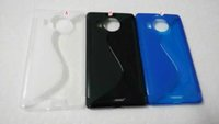 aero soft - S Line Soft TPU Silicone GEL Case Wave Anti slip Clear Crystal Colorful For Nokia Microsoft Lumia XL HTC ONE A9 Aero Skin back Luxury