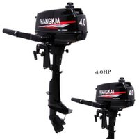air cooled outboard - 2014 New Design Best Quality stroke HP HANGKAI outboard motor boat engine air cooled US warehouse