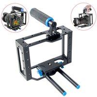 Wholesale YELANGU Handle Grip Non slip Border Multiple Screw Holes Low Angle Shooting Handheld Camera Cage For DSLR Except D D D