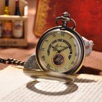 antique pocket watch brands - 2015 Hotsale Watch Men Luxury Brand Fashion Watch Mechanical Hand Wind Pocket Watch Men Steampunk Watches