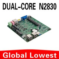 Wholesale New Celeron dual core N2830 mini motherboard N2830 mainboard industrial mini itx with HDMI USB for lan port