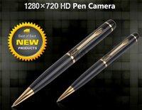 Wholesale Hot Selling Mini SPY Pen Hidden Camera HD p Camcorder fps AVI Video Recorder Recording DV DVR