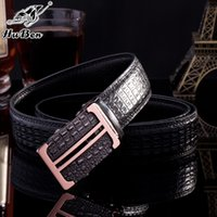 Wholesale Crocodile Leather belt automatic buckle leisure belts for men men s brand new designer belts high quality