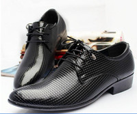 Men b young dresses - Men s Dress shoes Fashion Young Men PU Leather Casual shoes Wedding shoes nightclub Party Business Shoes Plaid pointed toe shoes styles