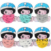 baby boy bicycle - Top Quality Kids Scarves Children Cartoon Neck Scarf Bicycle Printed Collars Wraps Boys Girls O Ring Scarf Warm Neckerchief for Baby Infant
