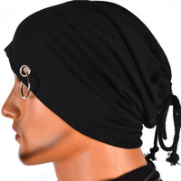 bd - New Design Cool Beanie Hats Autumn Winter Elastic Skull Caps Can Be Adjustable Most Lightweight Slouchy Beanie Hat BD