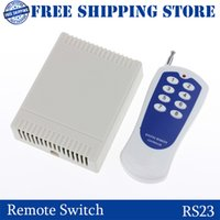wireless rf remote control - RS23 DC12V RF Remote Control Switch System CH channel Relay Wireless Receiver Transmitter for Wireless system