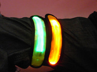 awesome rings - Awesome Party Glowing Bracelet LED lights Flash Bracelet Wrist Ring Nocturnal Warnings Ring Running Gear Glowing Armband