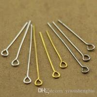 Wholesale Multi usage korean jewelry accessories DIY metal findings mm imit rhodium color lapel straight walmart pins drop shipping