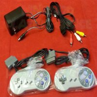 av power cord - AC Adapter Power Cord AV Video Cables Game Controllers for Super Nintendo SNES