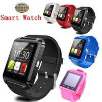 Wholesale Smart watch bluetooth smart watch U8 wrist watch digital sport watches for phone wearable electronic device