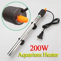 Wholesale Best Price W Stainless Steel Adjustable Automatic Aquarium Fish Tank Water Temperature Thermostat Heater