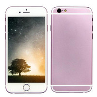 metal - Pink Metal Goophone i6s inch Quad Core MTK6582 GHz GB GB GB Android Single Sim Smart Phone DHL