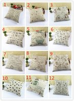 100% Polypropylene pillow pets - Creative Totem Pillow Cover hand drawn style Home Cotton Linen Pillow Cushions Decorative Pillow Throw Pillow Sofa Cushion Cover