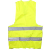 Wholesale Construction Reflective Vest Safety Clothing W LED Red Light Yellow Size XL x CR2032