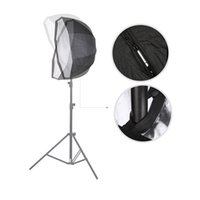 flash light diffuser - 80cm in Octagon Umbrella Softbox for Speedlite Flash Light Reflector Diffuser with Carbon Fiber Bracket D1999